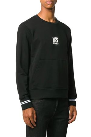No Logo Sweatshirt NEIL BARRETT | -108764232 | PBJS662SP541S1118