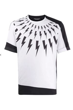 Thunderbolt T-shirt NEIL BARRETT | 8 | PBJT809SP515S526