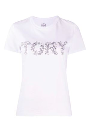 T-shirt con logo TORY BURCH | 8 | 73626102