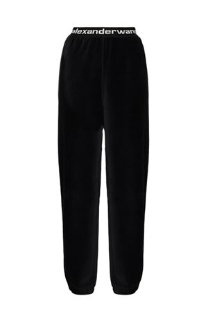Trousers with logo ALEXANDER WANG | 9 | 4CC1204024001