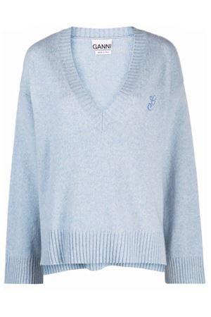 Sweater with neckline GANNI | 7 | K1527574