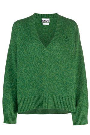 Sweater with neckline GANNI | 7 | K1573801