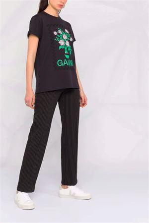 T-shirt a fiori GANNI | 8 | T2800252