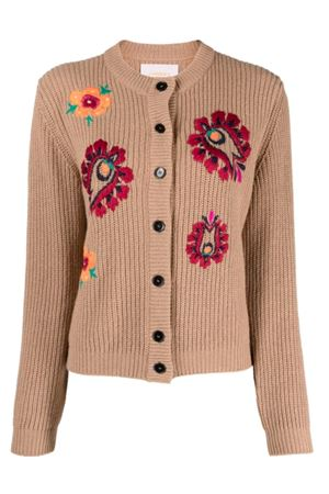 Embroidered cardigan LA DOUBLEJ. | 39 | PUL0041KNI027CAM002