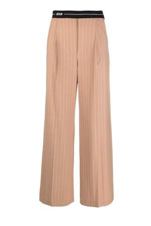 Pantaloni gessati MSGM | 9 | 3141MDP14A21760124