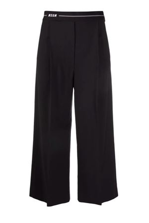 Pantaloni con logo MSGM | 9 | 3141MDP1521760599