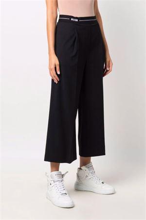 Pantaloni con logo MSGM   9   3141MDP1521760599