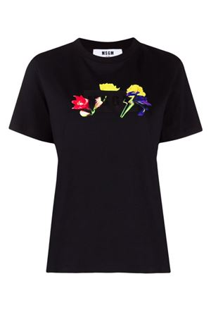 T-shirt with logo MSGM | 8 | 3142MDM18821779899