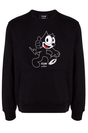 Felpa stampa Felix The Cat NEIL BARRETT | -108764232 | BJS030AR558S1133