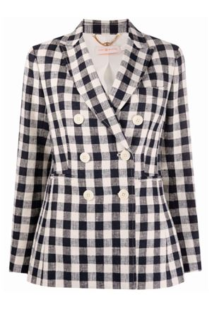 Checked jacket TORY BURCH | 3 | 79846801