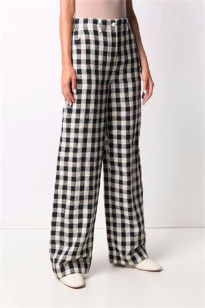 Pantaloni a quadri TORY BURCH   9   84521801