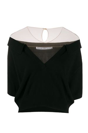 Boat neck sweater ALEXANDER WANG | 7 | 1KC1201104001