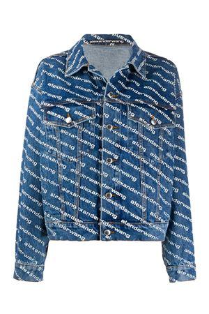Denim jacket with logo ALEXANDER WANG | -276790253 | 4DC1202645922