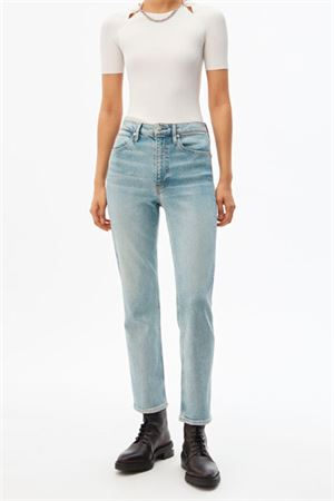 Jeans con zip posteriore ALEXANDER WANG | 24 | 4DC1204631449