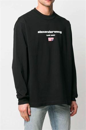 Sweatshirt with logo ALEXANDER WANG | -108764232 | 6CC1201033001
