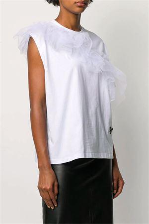 T-shirt con tulle BROGNANO | 8 | 28BR1M68Y20441201