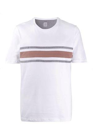 T-shirt a righe ELEVENTY | 8 | A75TSHA08JER0A00701N