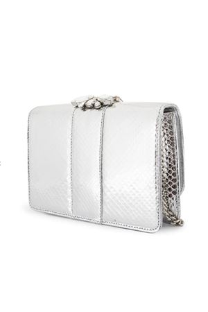 Cliky bag with crystals GEDEBE | 31 | CLIKY SNAKE SILVER06