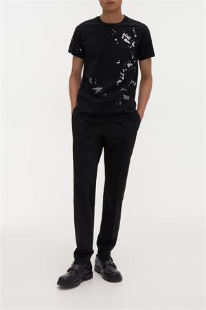 T-shirt con pittura stampata HELMUT LANG | 8 | J09DM526XNU
