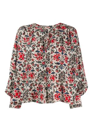 Floral silk blouse ISABEL MARANT | 5032237 | 20PHT130320P020I70RD