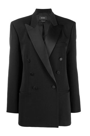 Double-breasted tuxedo jacket ISABEL MARANT | 3 | 20PVE122320P013I01BK
