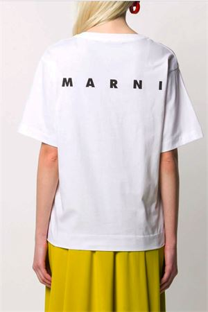 T-shirt con stampa MARNI | 8 | THJEL32EP2SCQ57NYR66