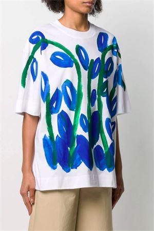 Flowers print t-shirt MARNI | 8 | THJET49EPESCQ70DEB61