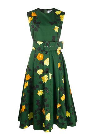 Rose print dress MSGM | 11 | 2841MDA16220717237