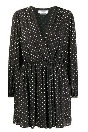 Short polka dot dress MSGM | 11 | 2841MDA16820715301