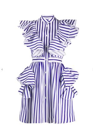 Striped dress MSGM | 11 | 2841MDA18120710285