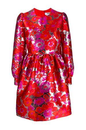 Damask floral dress MSGM | 11 | 2841MDA18720712418