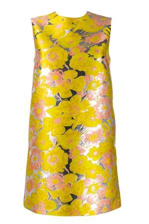Short damask dress MSGM | 11 | 2841MDA18820712406