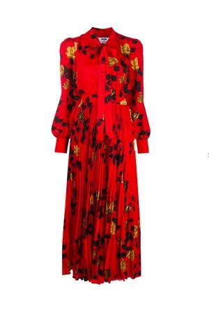 Rose print dress MSGM | 11 | 2841MDA202P20716218