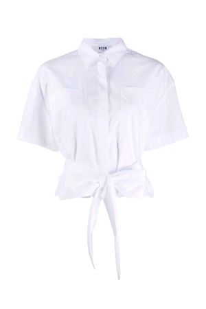 Shirt with knot MSGM | 6 | 2841MDE2920712502