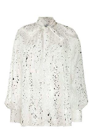 Metallic print blouse MSGM | 5032237 | 2841MDM1420711601