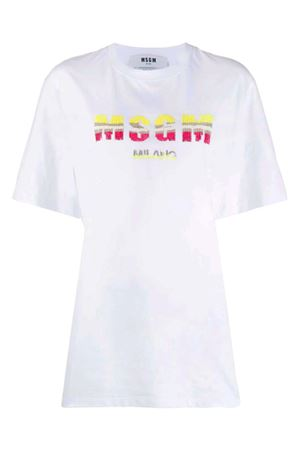T-shirt with logo MSGM | 8 | 2841MDM21820729801