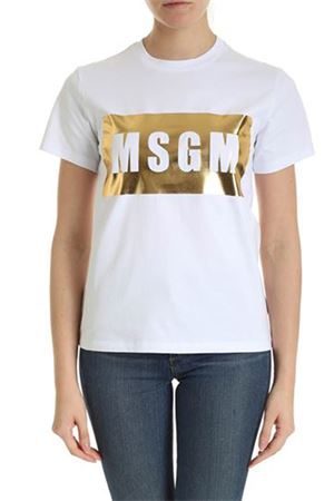 T-shirt with logo MSGM | 8 | 2841MDM9520729801A