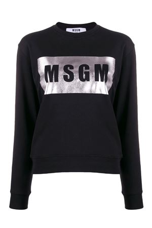 Sweatshirt with box logo MSGM | -108764232 | 2841MDM9620729999A