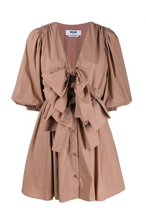 Dress with bows MSGM | 11 | 2842MDA10620730426