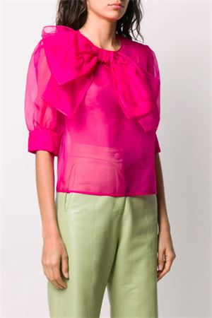 Transparent blouse MSGM | 5032237 | 2842MDM10220730314