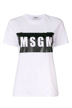 T-shirt with logo MSGM | 8 | 2842MDM19520749801