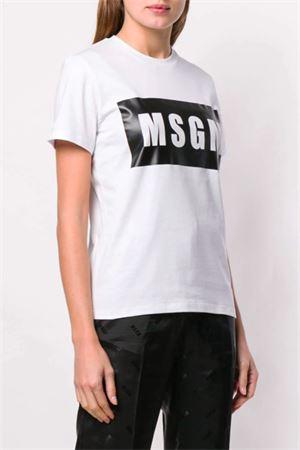 T-shirt con logo MSGM | 8 | 2842MDM19520749801