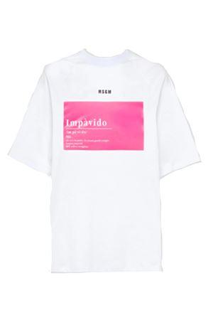 Fearless Zanichelli t-shirt MSGM | 8 | 2842MDM20120749801