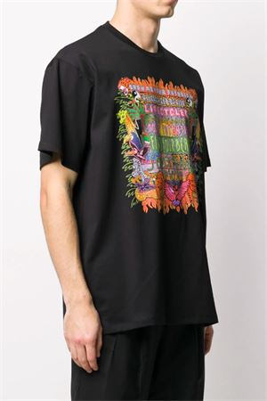 T-shirt with printed design NEIL BARRETT | 8 | BJT740SN513P1847