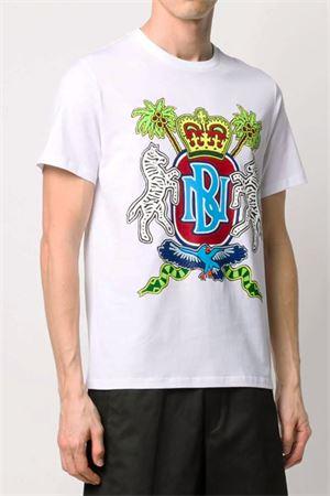 T-shirt with print NEIL BARRETT | 8 | BJT768BN587S2357