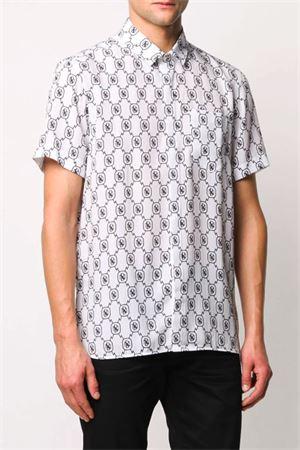 Camicia monogramma Tencel NEIL BARRETT | 6 | PBCM1314N036526
