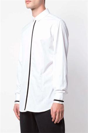 Camicia bicolore NEIL BARRETT | 6 | PBCM1320CN063C2554