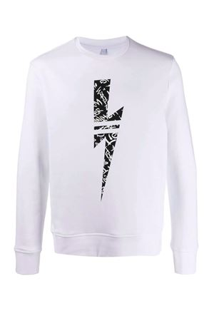 Sweatshirt with lightning NEIL BARRETT | -108764232 | PBJS598SN510S526