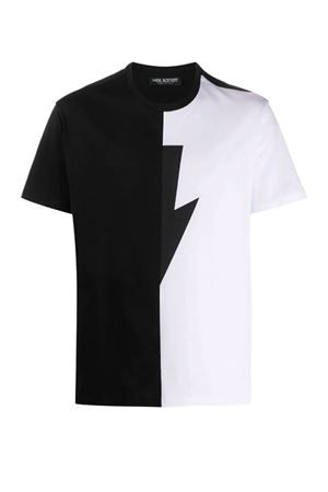 Lightning T-shirt NEIL BARRETT | 8 | PBJT683SN519C1118