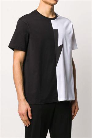 Lightning T-shirt NEIL BARRETT | 8 | PBJT683SN519C1118